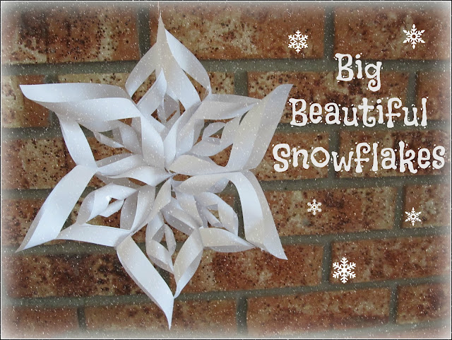 3D Paper Snowflakes