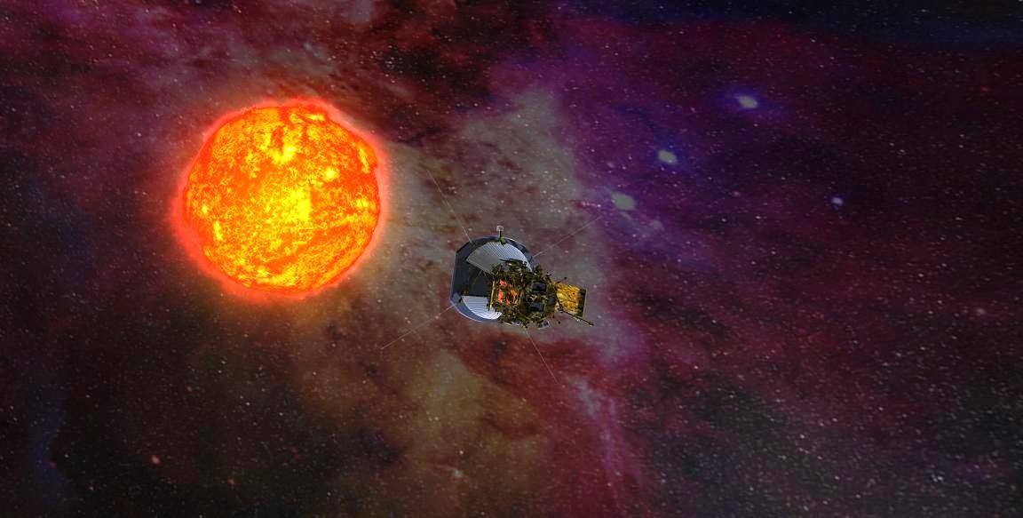 Solar Probe Plus. Credit JHU/APL