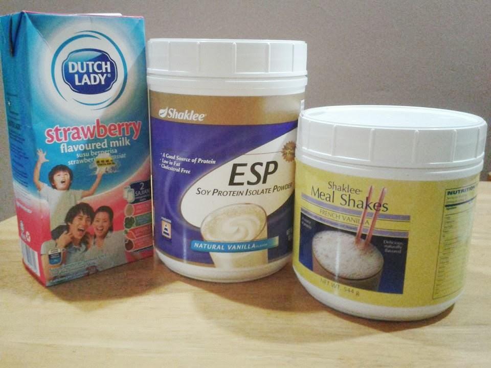 ESP + Mealshakes + Susu Strawberi