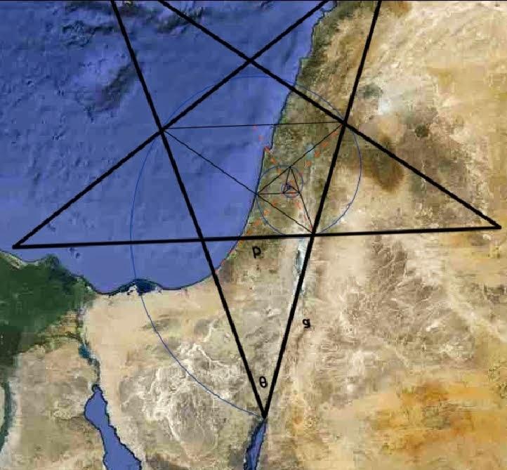 הגבולות הדרומיים של ישראל כמשולש זהב