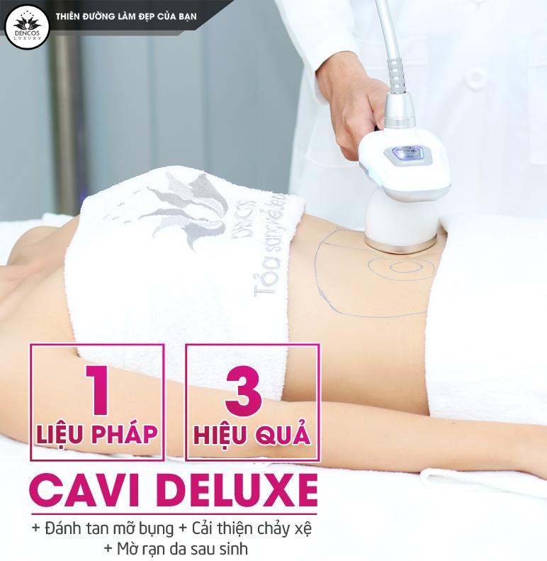 Bí kíp giảm mỡ bụng sau sinh cực kỳ đơn giản Cavi-deluxe-giam-mo-bung-sau-sinh