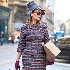 Đurđa Tedeschi ulična moda, street fashion December 2014, People & Styles fashion blog