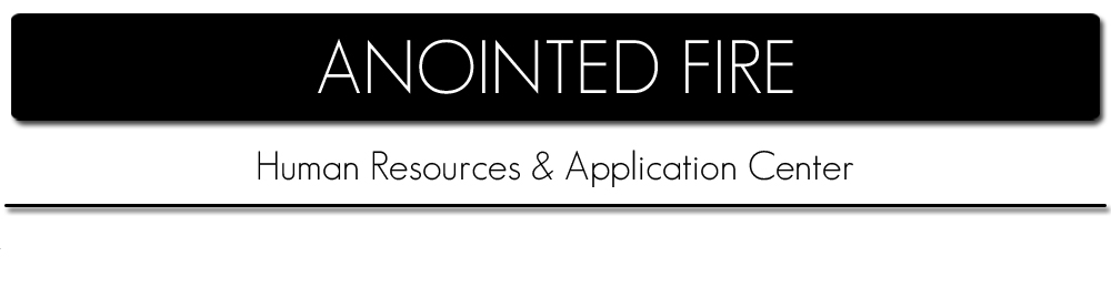 Anointed Fire Human Resource & Application Center