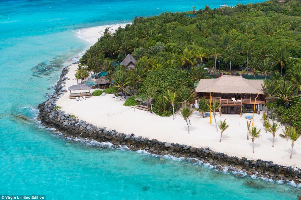 Richard Branson House Necker Island