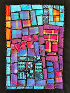 tutorial! mini-quilt mosaic