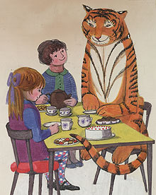 The Tiger who Came to Tea: Owp!