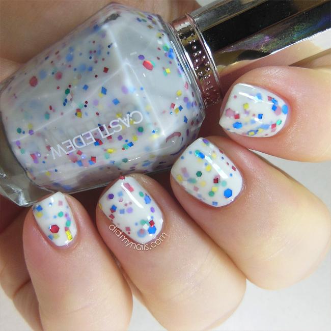 Castledew glitter nail polish