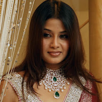 exotic hot decorative Actress sangeetha latest saree stills at bridal look