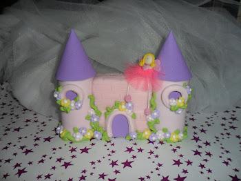 Castillito para la torta de Sofia!!