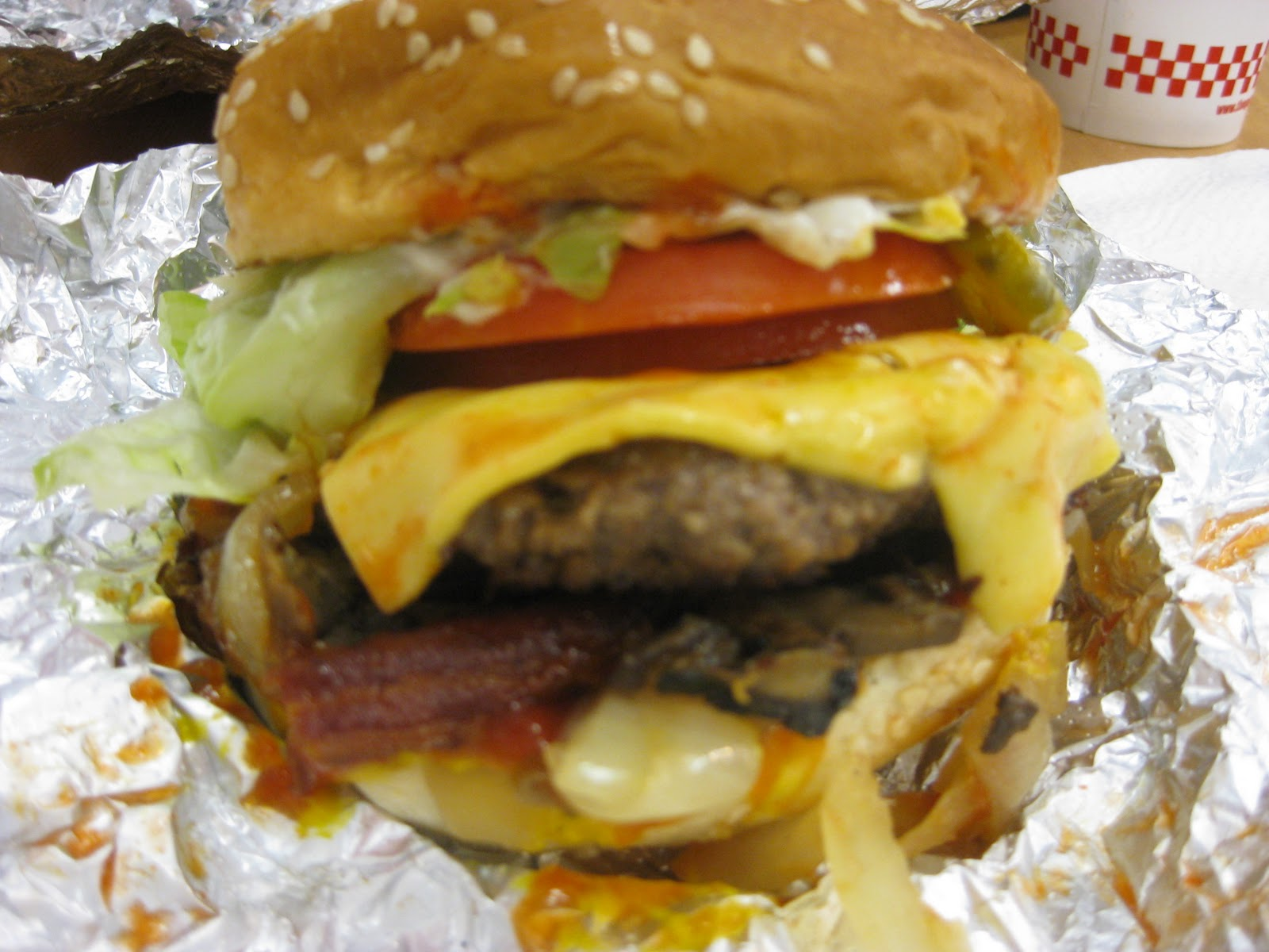 Five Guys Burgers And Fries Hot Dogs Five Guys Burgers And Fries