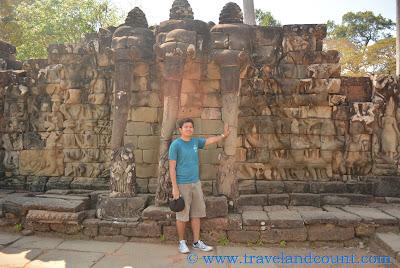 Elephant Terrace Angkor