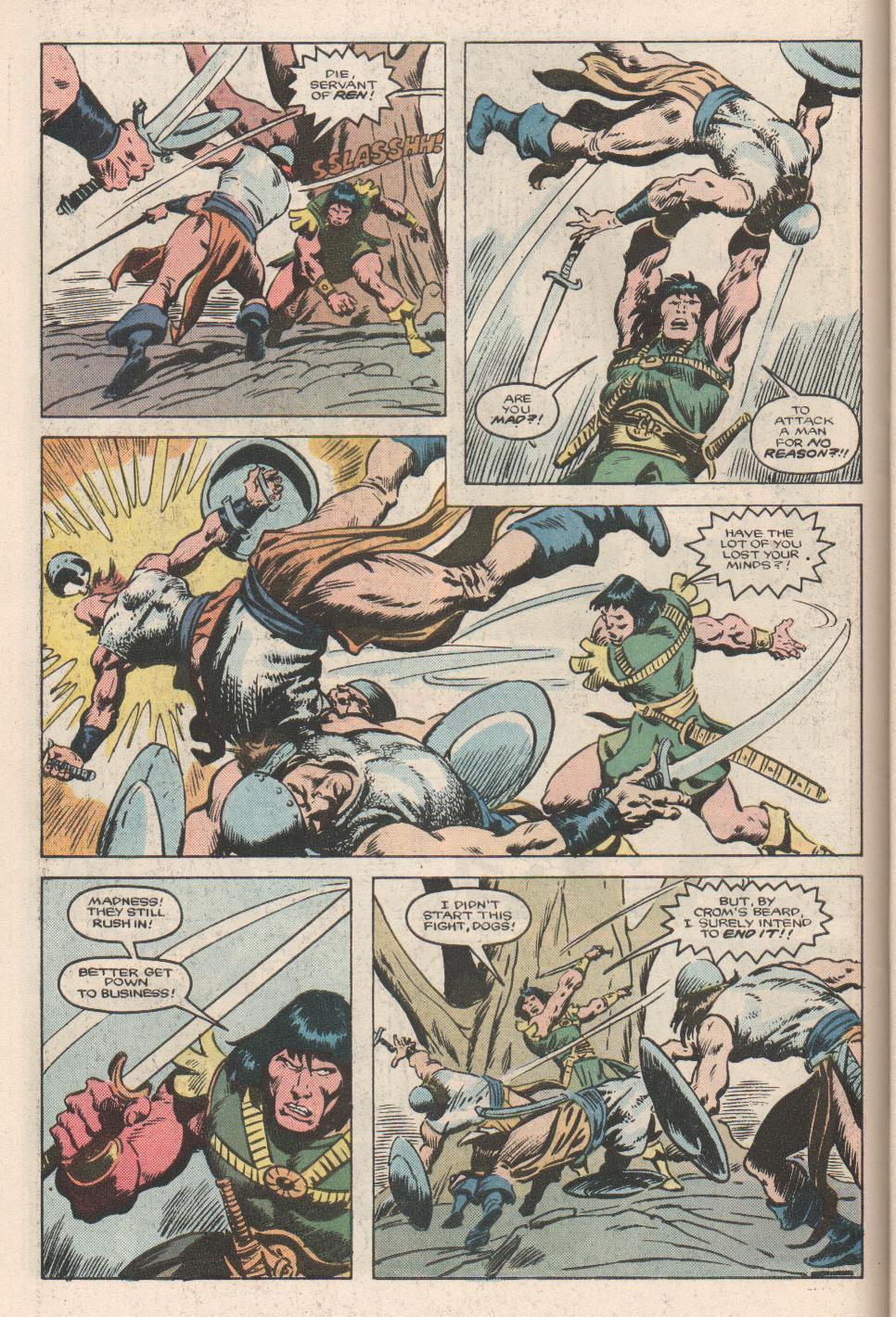 Conan the Barbarian (1970) Issue #180 #192 - English 5