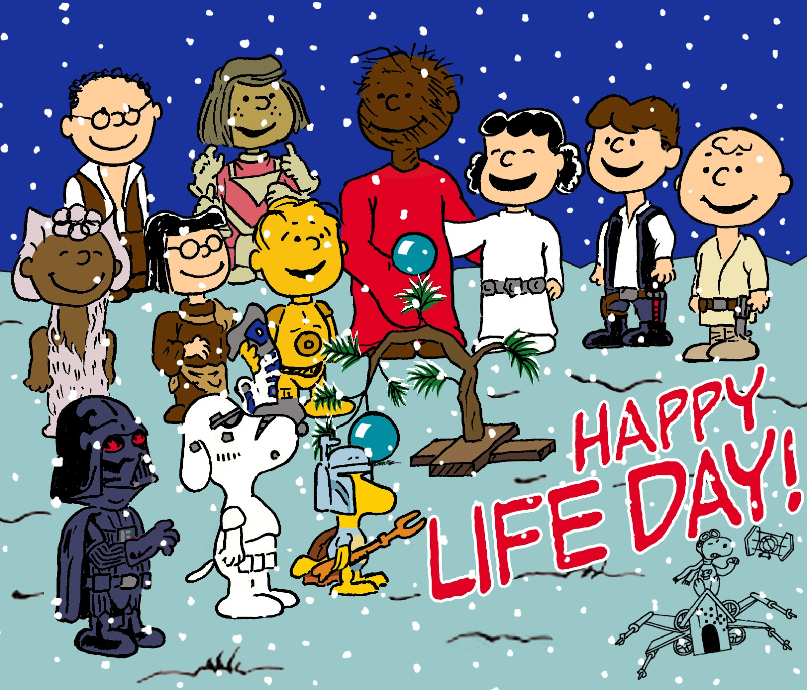 Happy Star Wars Day: World Wide Wookiee Life Day