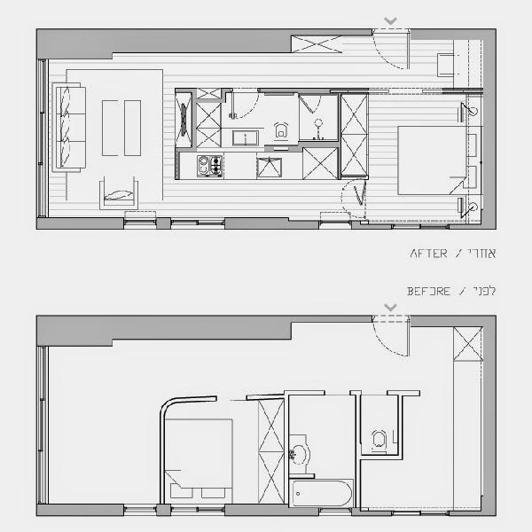 Projeto de apartamento pequeno
