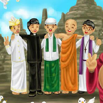 Hasil gambar untuk toleransi antar umat beragama