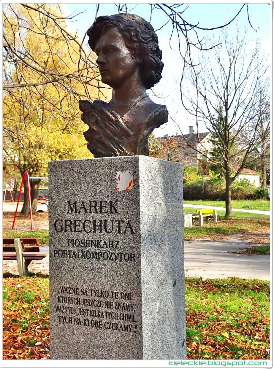 Piosenkarz, poeta i kompozytor Marek Grechuta w Alei Sław