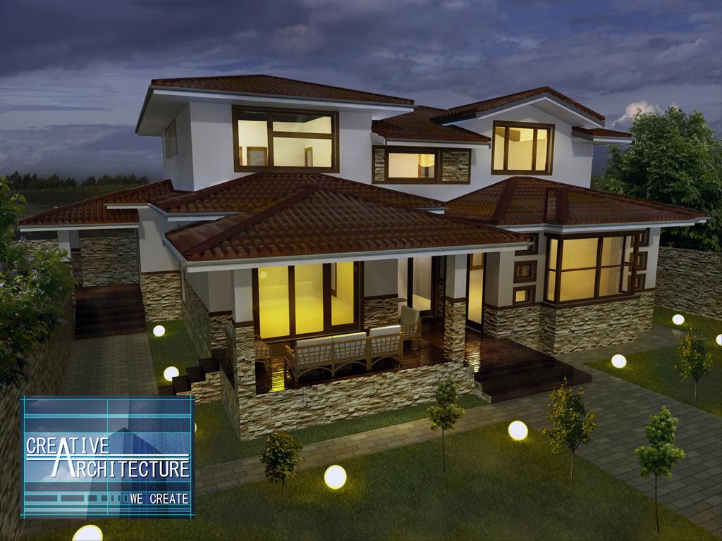 Arhiconstruct proiect casa e06 for Case cu etaj