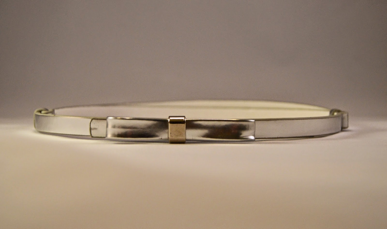 Winter Sales- Silver Skinny Belt from Express