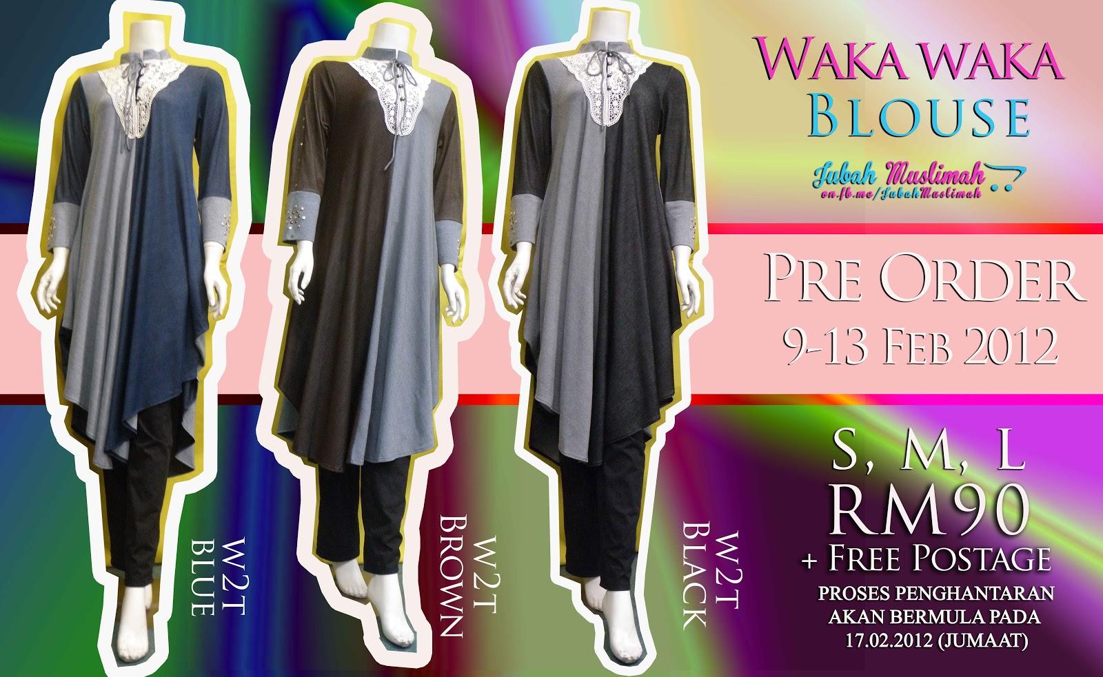 Waka Waka Long Blouse 97