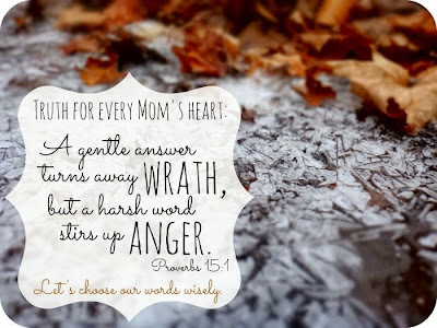 mothers gentle words