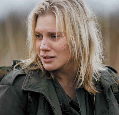 Katee Sackhoff actriz de cine