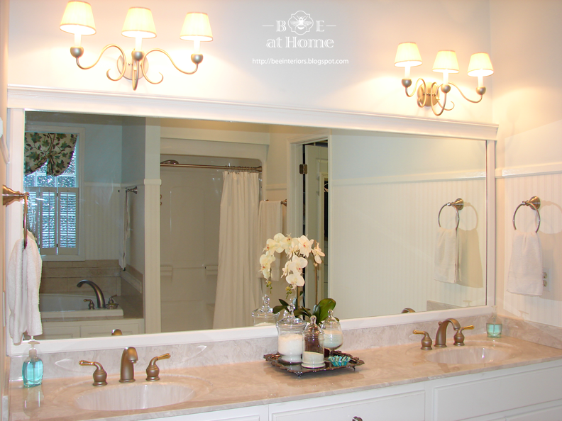 Bathroom Mirror And Lights lights over mirror bathroom - lovely chandelier bathroom lighting