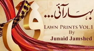 Junaid Jamshed Lawn 2014 Vol-1