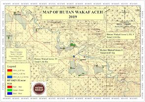 MAP of Hutan Wakaf