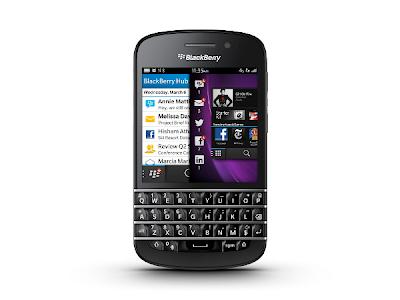 Blackberry Q10,ios