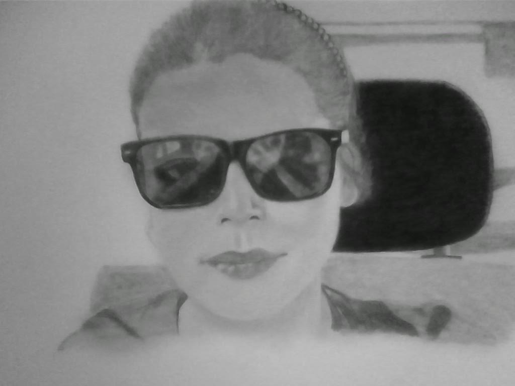 Koleksi lukisan pensil .: Lukisan pensil wajah.
