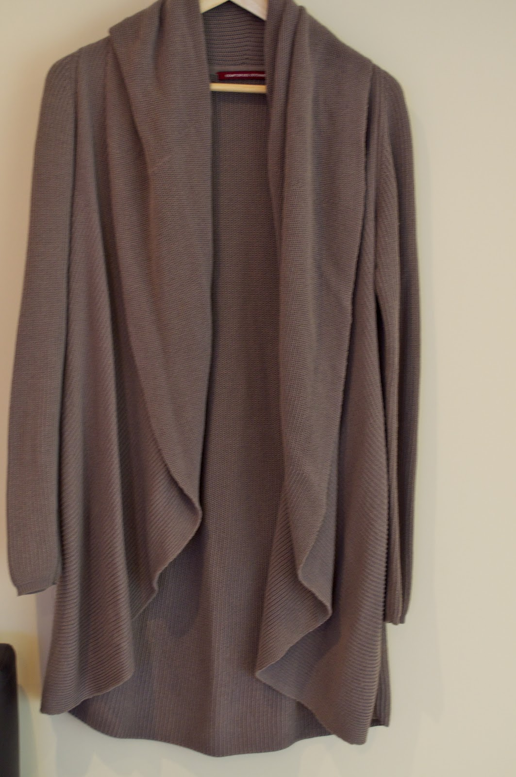 Mon vide dressing gilet long taupe comptoir des - Vide dressing comptoir des cotonniers ...