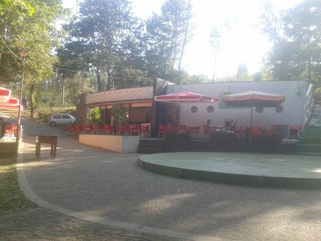 Bar do parque de lazer de Várzea