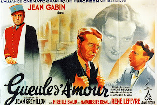 Cover, carátula, película: Cara de amor | 1937 | Gueule d'amour