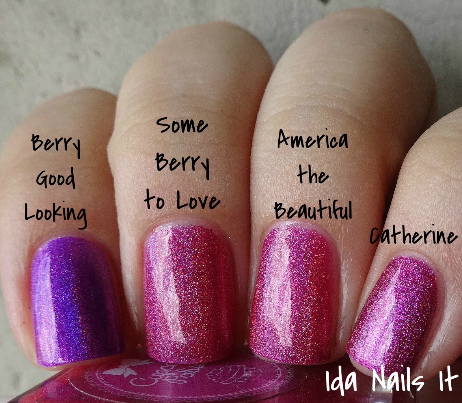Ida Nails It: Cupcake Polish The Berry Patch Summer 2015 Collection ...