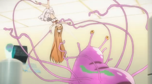 Asuka gets tied up adn toy fucked by the boys 3