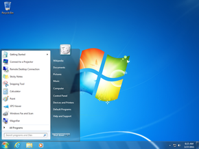 desktop shortcuts disappear in Windows 7