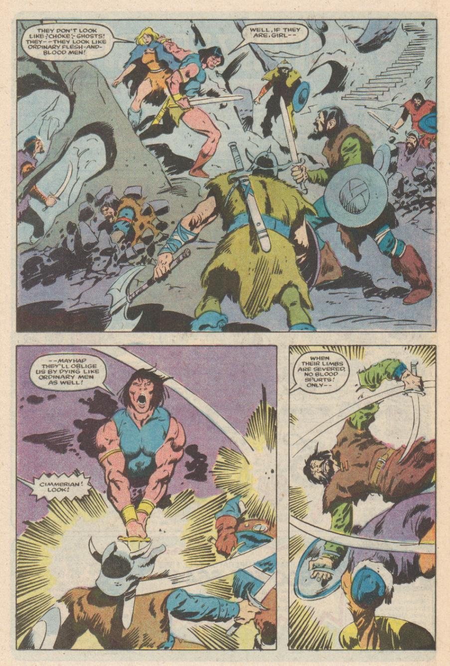 Conan the Barbarian (1970) Issue #169 #181 - English 19