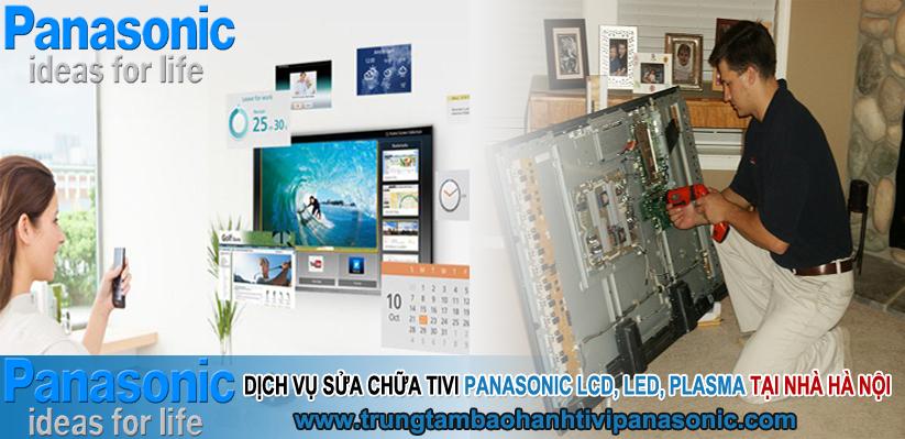 Sửa tivi Panasonic Lcd, Plasma, Led tại nhà Hà Nội