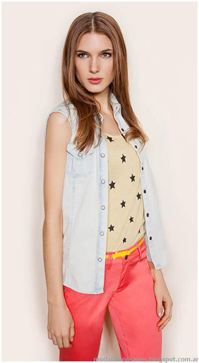 Looks de verano frescos y femeninos Gloria Jeanswear 2014.