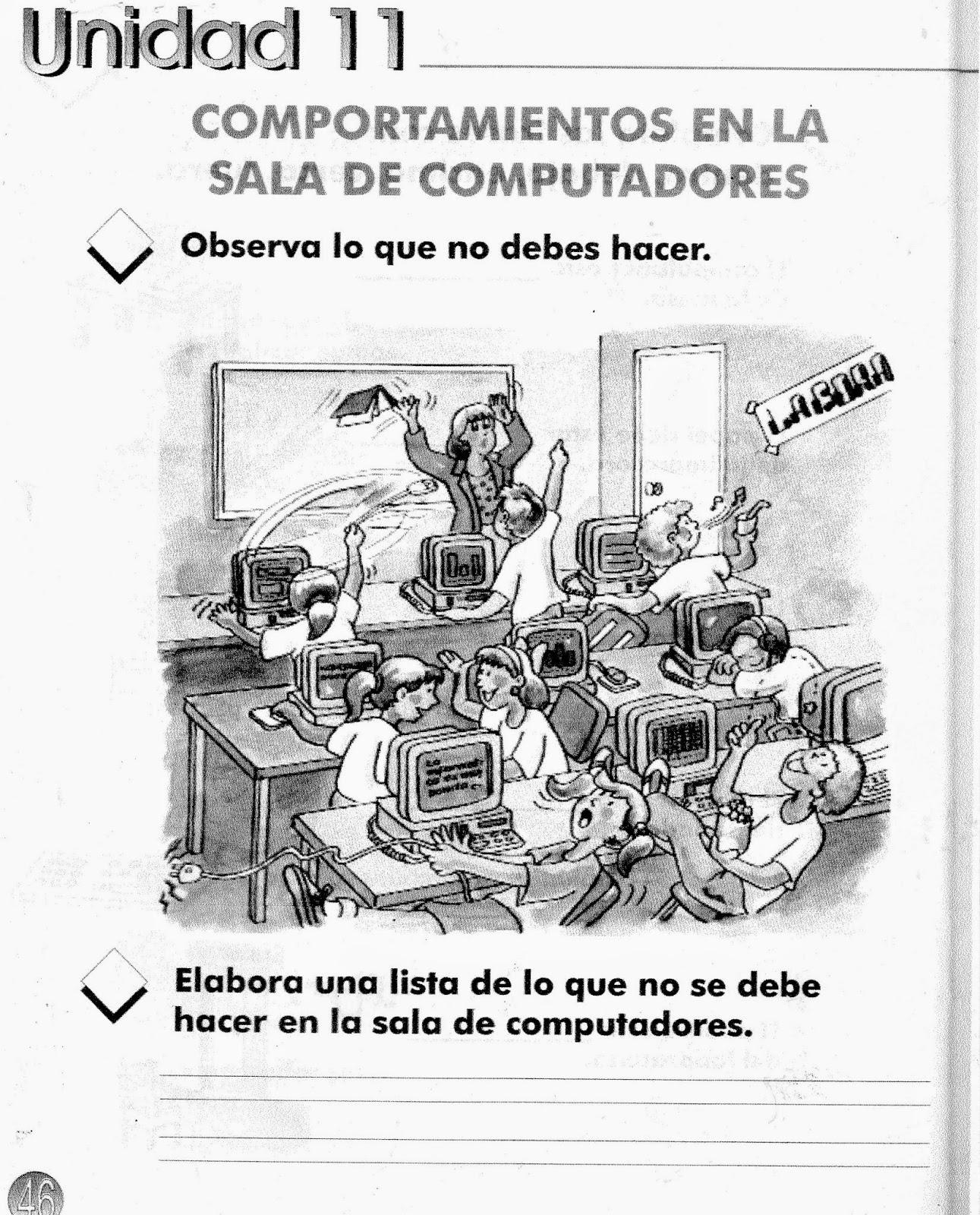 Moderno Clases De Informática Para Colorear Modelo - Dibujos Para ...