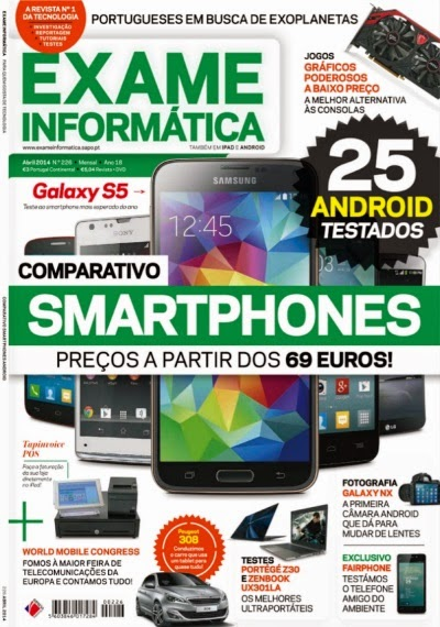 Download - Revista : Exame Informática - Abril de 2014 - Edição 226