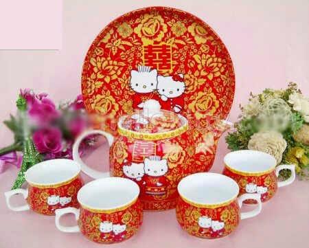 Teko set keramik HK
