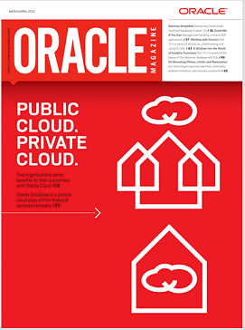 Oracle Magazine Marzo/Abril 2013