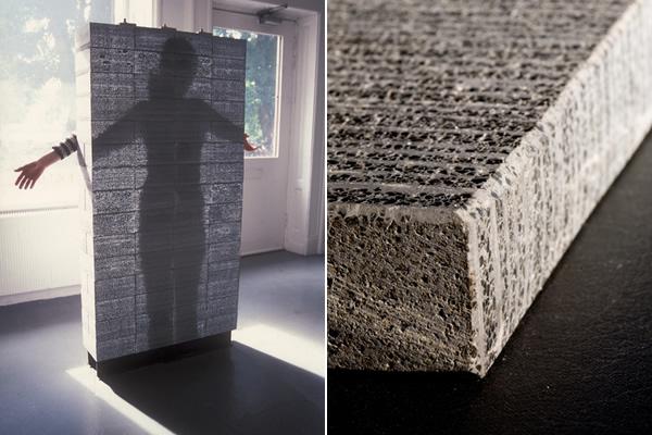 Usimak a combina o entre concreto e fibra tica resulta for Hormigon traslucido