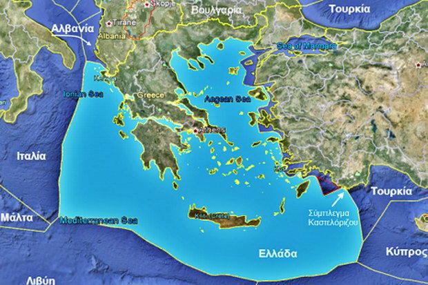 Ελλάδα, θαλάσσια σύνορα και Αιγαίο