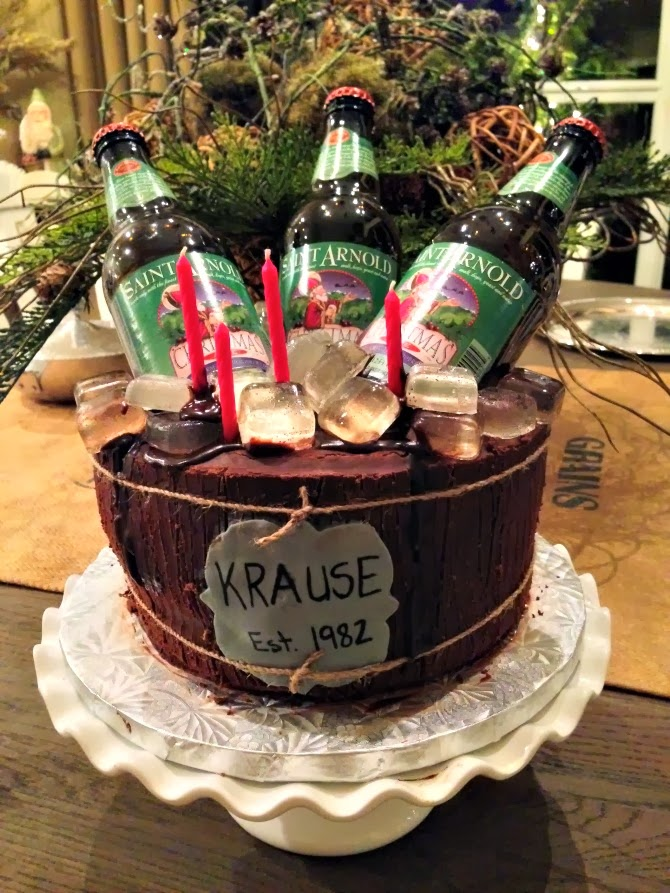The Holland House: Beer Bucket Cake