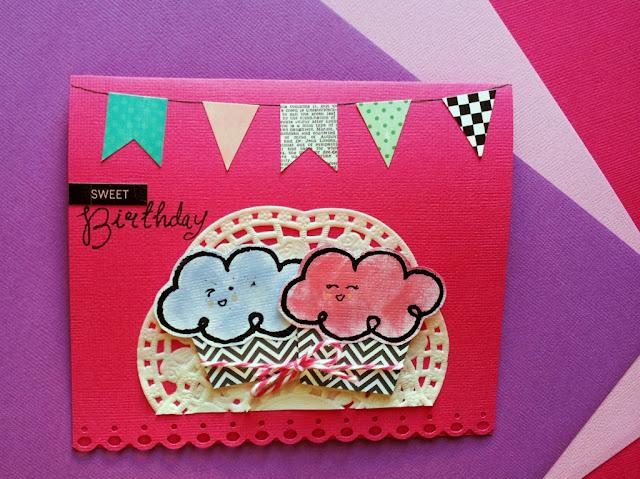 crafts postal cumpleaños