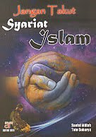 AJIBAYUSTORE Judul Buku : Jangan Takut Syariat Islam Pengarang : Saeful Millah – Toto Suharya Penerbit : Arfino Raya