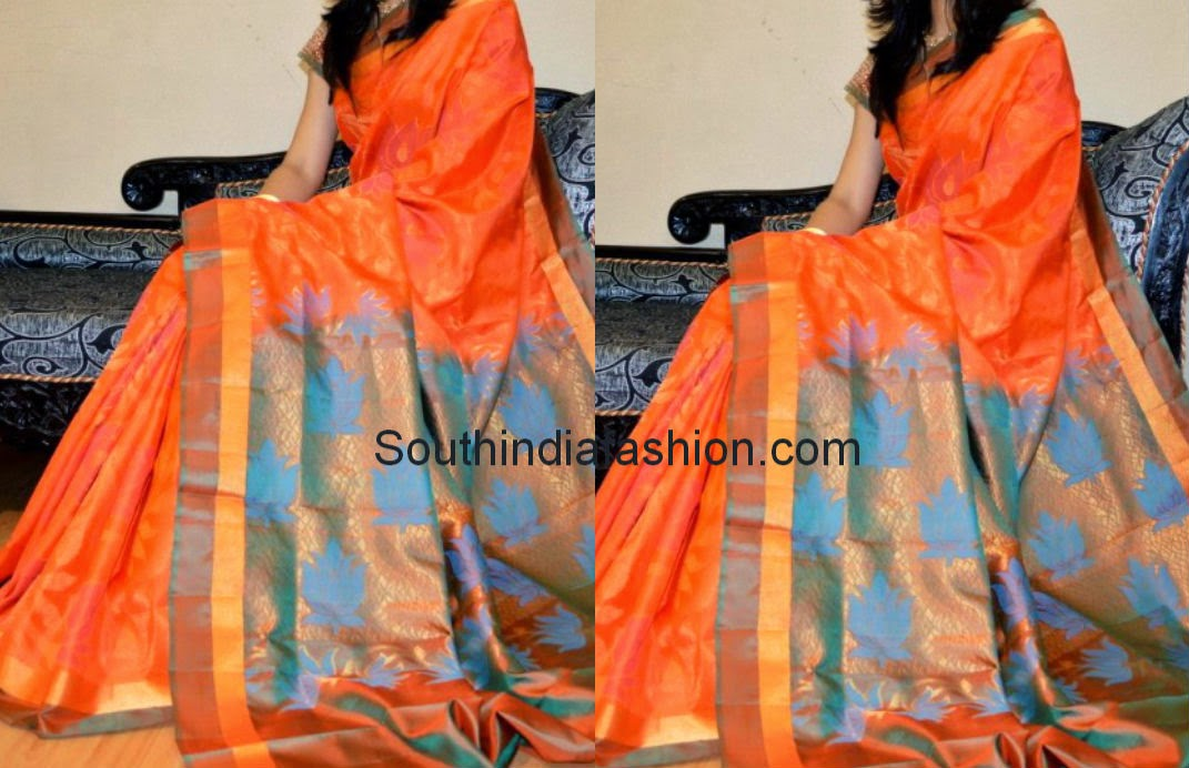 kollam silk saree