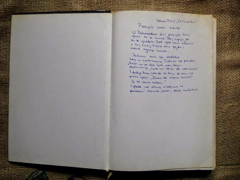 Stevan Pešić - Katmandu , omiljeni citati